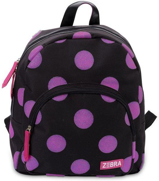 3db5cef19a4 bol.com   Zebra Trends Girls Rugzak Glitter Dots Hot Pink