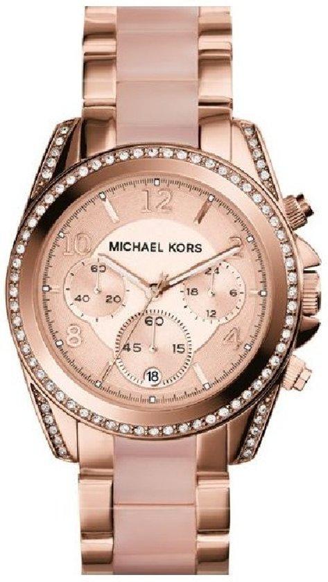 Michael Kors MK5943  - Horloge - Staal - Rosékleurig - Ø 39 mm