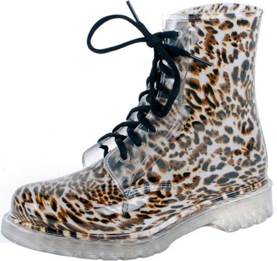 Gevavi Boots Nora meisjes- en dameslaars pvc panter 31