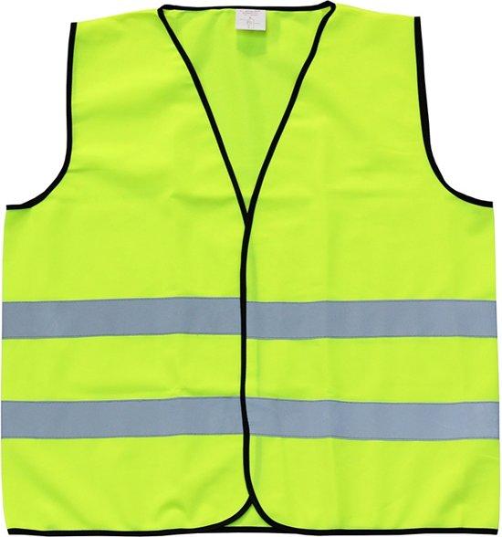 Veiligheidshesje - Reflecterend - Fluo geel - Maat Large