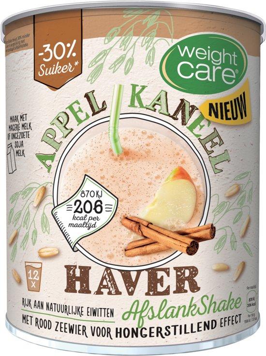 WeightCare Maaltijdshake Haver Appel Kaneel - 420 gram