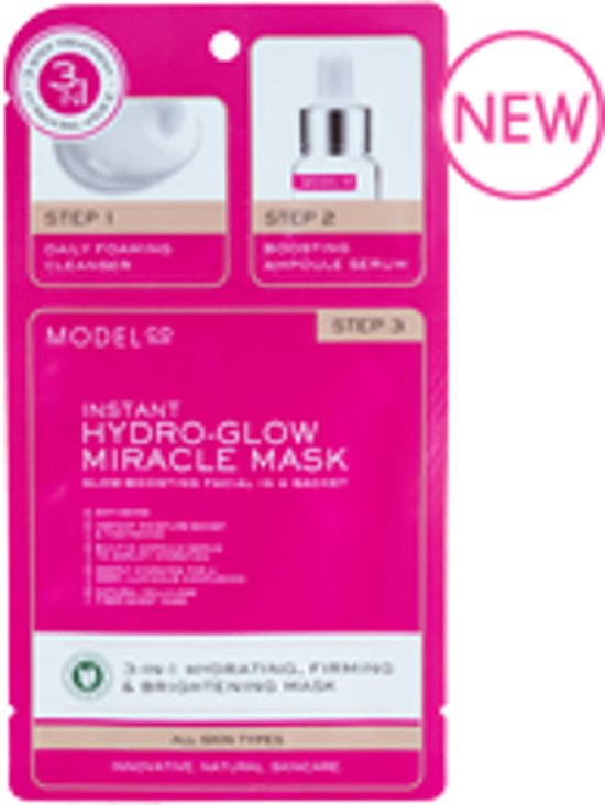 ModelCo HYDRO GLOW MIRACLE MASK