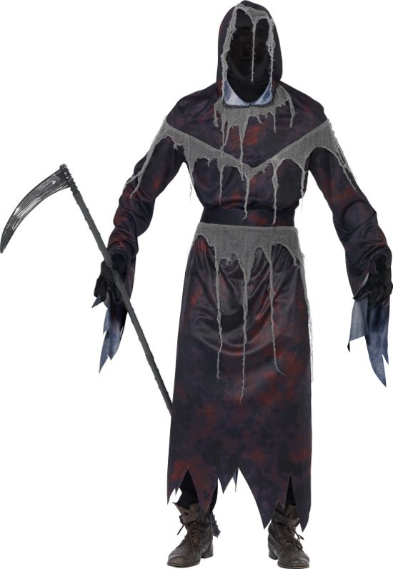 Halloween Kostuum Magere Hein.Bol Com Grim Reaper Magere Hein Kostuum Maat S Smiffys