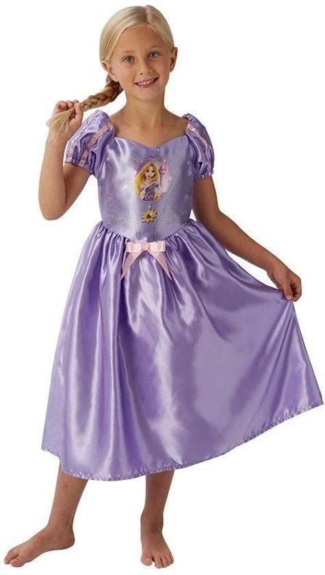 Rapunzel jurk maat L 122-128