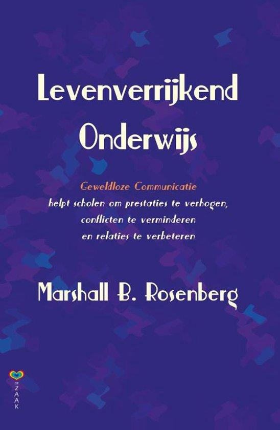 Boek cover Levenverrijkend Onderwijs van Marshall B. Rosenberg (Paperback)