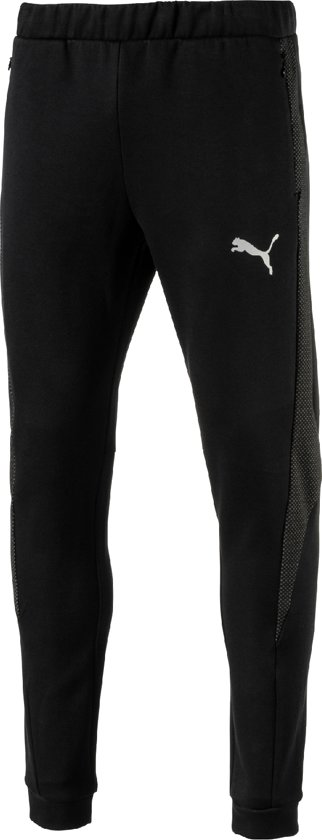 PUMA Sportbroek Evostripe Ultimate Pants 592623 01 - Heren - Cotton Black -  Maat L