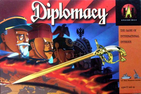 Afbeelding van Hasbro Avalon Hill bordspel Diplomacy (originele editie) + NL handleiding) speelgoed