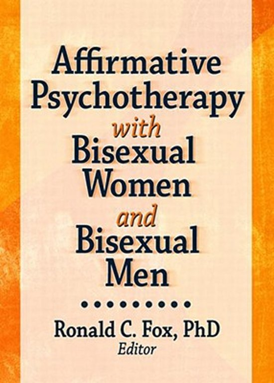 bol.com | Affirmative Psychotherapy with Bisexual Women and Bisexual Men |  9781560232995 |.