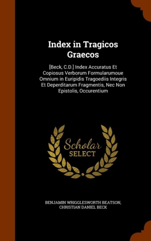 Index in Tragicos Graecos
