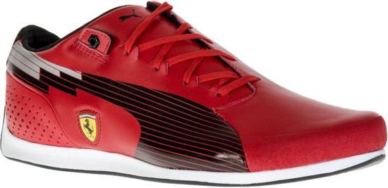 Puma evoSPEED Low SF NM Sneakers Sportschoenen - Maat 44.5 - Mannen - rood/zwart/zilver