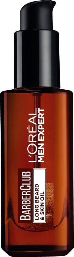 L'Oréal Men Expert BarberClub Baardolie - 30 ml - Lange baard & huid