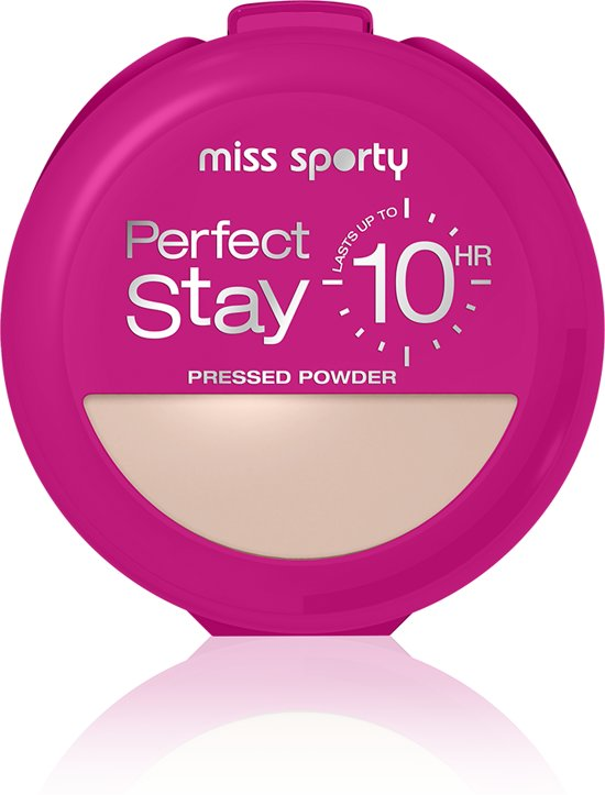 Miss Sporty So Matte Perfect Stay Powder - 001 Light - Make-up Poeder