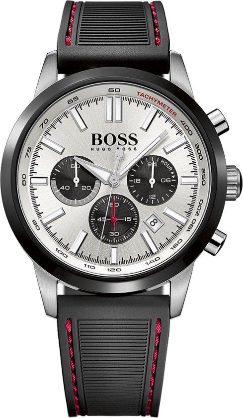 egyre népszerűbb új stílus ingyenes szállítás bol.com | Hugo Boss HB1513445 Horloge - Leer - Grijs - 44 mm