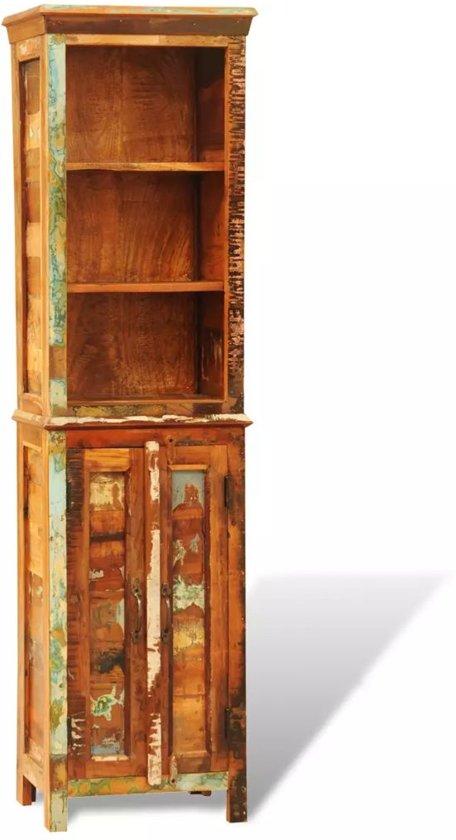 bol.com | vidaXL Vintage boekenkast