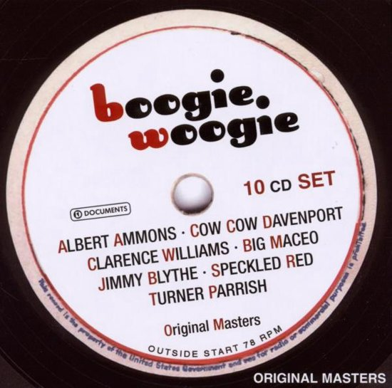 Boogie Woogie - 10 Cd-Box