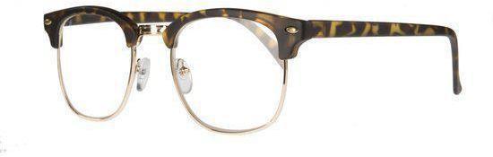 Icon Eyewear TCD211 Clubmaster Leesbril +1.50 - Tortoise