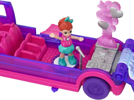 Polly Pocket Pollyville Vehicles Limousine