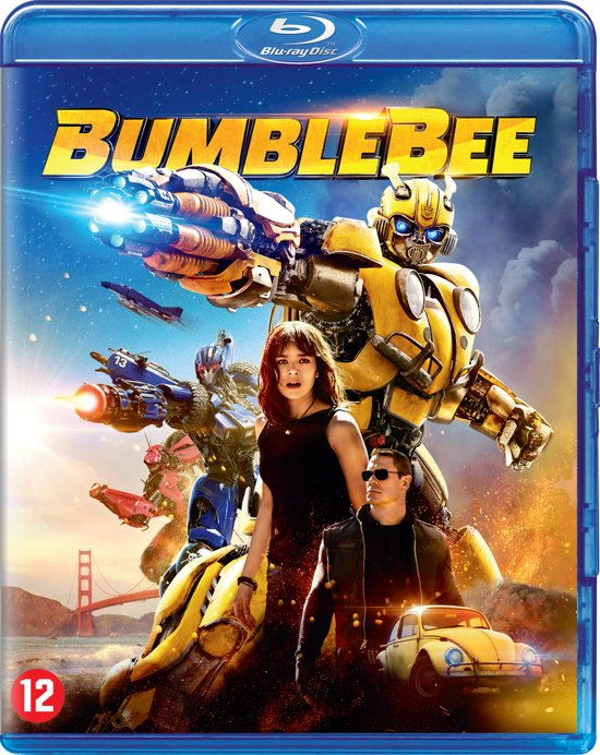 DVD cover van Transformers - Bumblebee (Blu-ray)