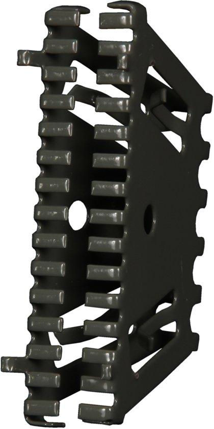 Bijenbekje 50mm Grijs Antraciet (RAL 7016) Stootvoegrooster (10 stuks)
