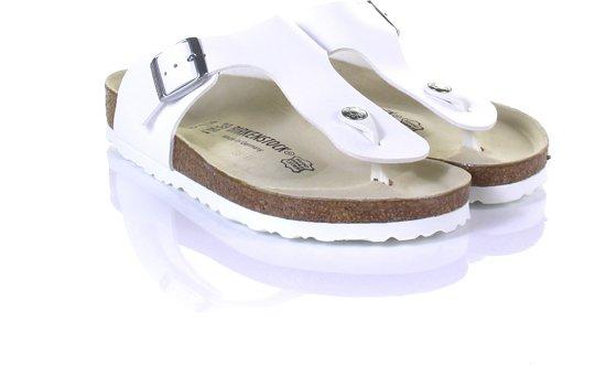 42bbc8f884c Birkenstock Ramses Normaal Heren Slippers - White - Maat 43