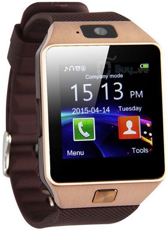 Luxe Smartwatch met camera Android  / Universeel Goud Samsung in Sint-Jan-in-Eremo
