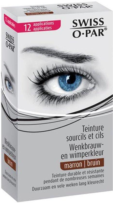 Swiss Opar Bruin - Wenkbrauwverf en Wimperverf