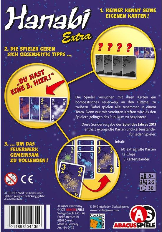ABACUSSPIELE ABA04135 kaartspel Gevarieerd kaartspel