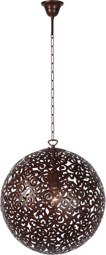 Lucide FEZ - Hanglamp - Roest bruin