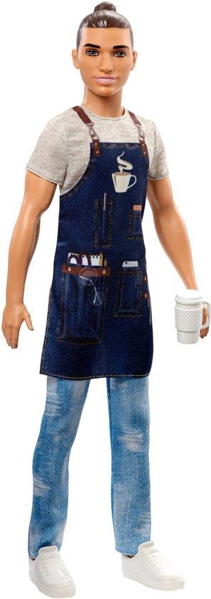 Barbie Cateers Ken Barista - Barbiepop