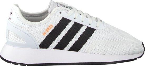 Adidas Meisjes Sneakers N-5923 J - Wit - Maat 38