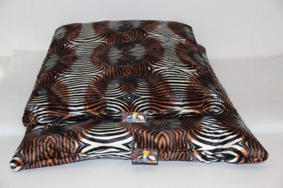 Wolken Ligbed Zebra Mix 110 x 70 cm
