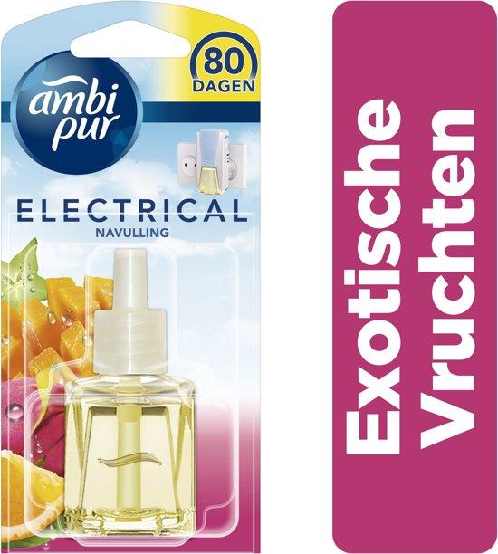Bol Com Ambi Pur Electrical Exotische Vruchten Navulling 20 Ml Luchtverfrisser