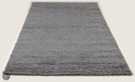 Tapijt Voor Gang : Bol jyg vloerkleed tapijt shaggy grijs