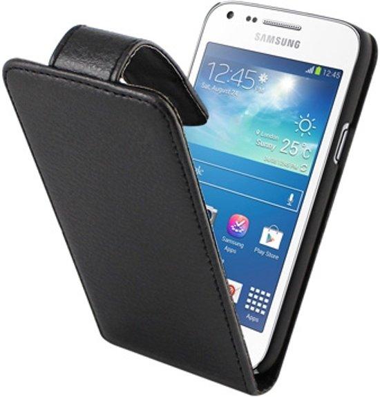 Multimediaaccessoires.nl Huismerk - Business Hoesje voor Samsung Galaxy Core Plus Zwart