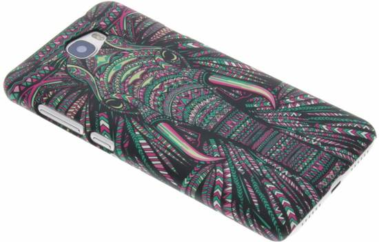 Loup Animaux Conception Aztec, Étui Rigide Pour Huawei Y5