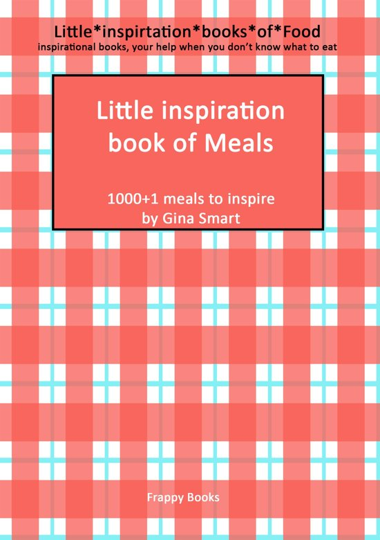 Little inspiration book of meals