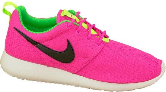 finest selection 88971 539bc Nike Rosherun Gs 599729-607, Vrouwen, Roze, Sportschoenen maat: 38.5 EU
