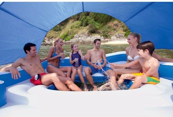 Bestway Tropical Breeze Opblaasbare lounger 389 x 274 cm