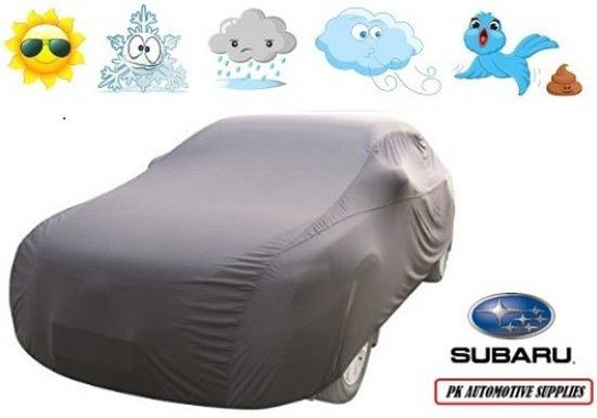 Autohoes Grijs Polyester Stretch Subaru Impreza 2008-