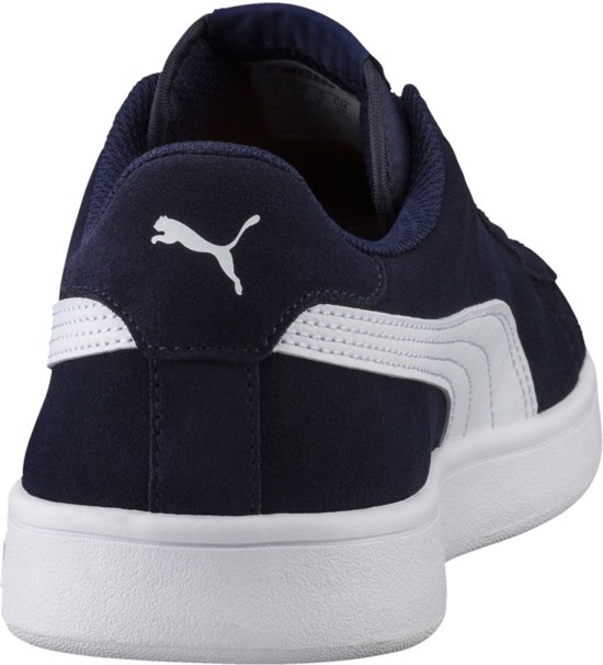 Puma Maat puma Unisex V2 43 White Sneakers Peacoat Smash axqBarwpv