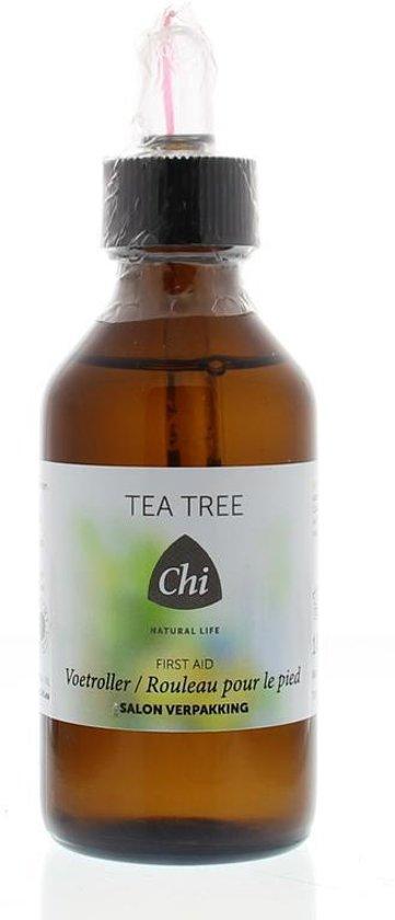 Chi Tea Tree / Eerste Hulp Voetroller + Pipet