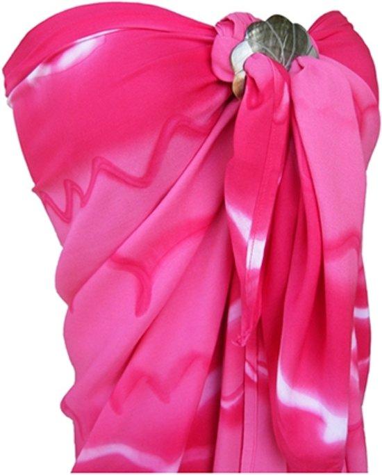 5589007a936f30 Roze Pareo, Sarong, Hamamdoek, Strandlaken, Strandjurk 100% beste kwaliteit  Rayon 115