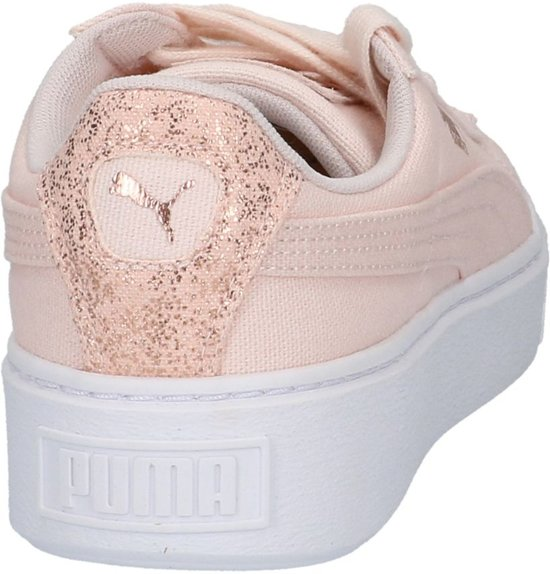 Basket Roze Platform Sneakers Geklede Lage Puma 5qjS34LAcR