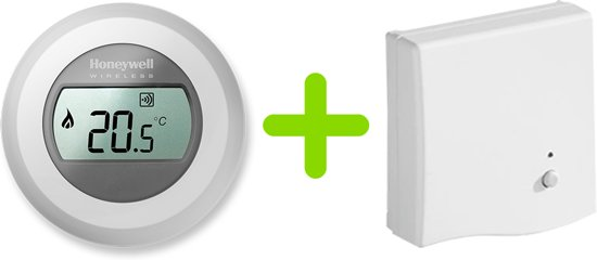 Honeywell Round Wireless Modulation - Draadloze kamerthermostaat