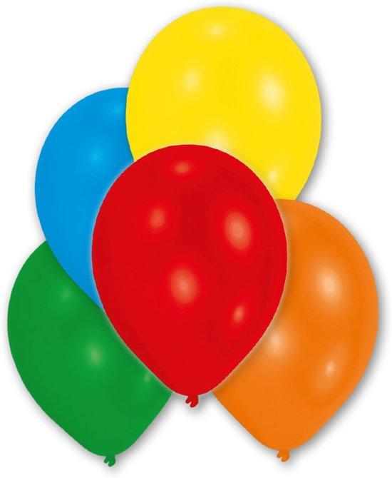 Amscan Feest ballon Ø 28 cm - Metallic assorti mulitcolor - Set-50 Valentinaa