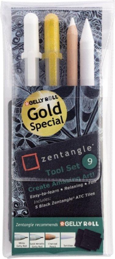 Sakura Zentangle Original tool set 9 Gold Special