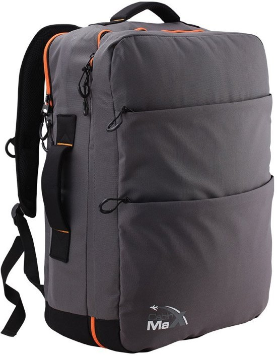 e2fe5b003cb Cabinmax Handbagage Rugzak - Gewatteerde laptop, iPad, notebook  compartiment - Lichtgewicht en stijlvolle rugzak