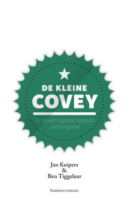 Boek cover De kleine Covey van Jan Kuipers (Hardcover)