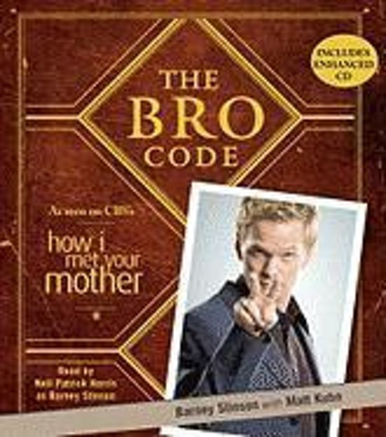 Boek cover The Bro Code van Barney Stinson (Onbekend)