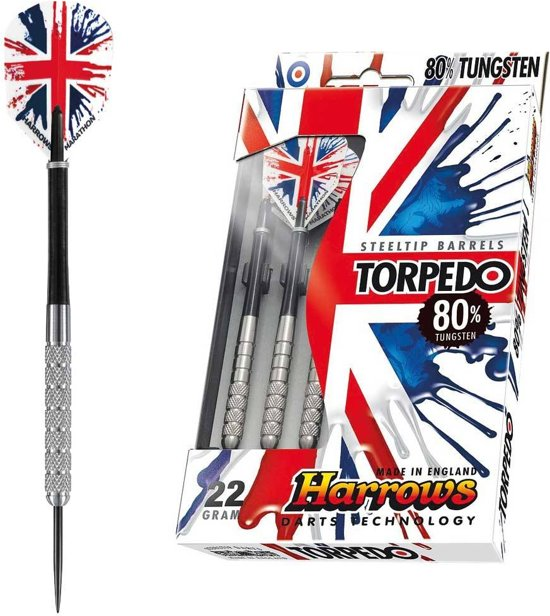 Harrows Steeltip Torpedo 21 GK - 80% Tungsten